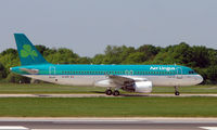 EI-DVF @ EGCC - Some of the typical traffic that can be seen at Manchester (Ringway)  International
