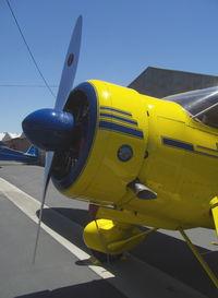 N727ST @ SZP - 1944 Howard DGA-15P, P&W R-985-AN-1 Wasp Jr. 450 Hp, cowl - by Doug Robertson