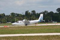 N460K @ LAL - Aero Commander 690B