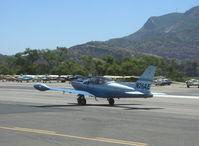 N26AE @ SZP - 1976 Siai-Marchetti SF.260B, 'Double Trouble', Lycoming O-540-E4A5 260 Hp, taxi - by Doug Robertson
