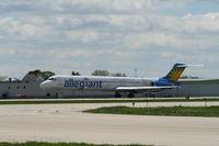 N878GA @ KRFD - MD-83 - by Mark Pasqualino