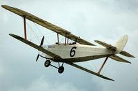 G-CAMM @ EGTH - 41. G-CAMM at Shuttleworth Evening Flying Display - by Eric.Fishwick