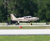 N8891Y @ LAL - Piper PA-39 - by Florida Metal