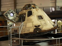 CM-101 @ DAL - Apollo 7 Command Module at Frontiers of Flight Museum, Dallas, TX