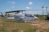 159218 @ CLT - United States Marines Bell AH1J Sea Corbra - by Yakfreak - VAP