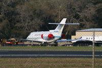 N660HC @ SSI - Hawker 800XP