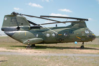 153389 @ CLT - US - Marines Boeing CH46A Vertol - by Yakfreak - VAP