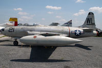33866 @ CLT - USAF Lockheed F80 Shooting Star - by Yakfreak - VAP