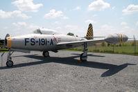 52-3253 @ CLT - USAF Republic F84 Thunderjet - by Yakfreak - VAP