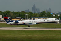 N927LR @ CLT - Mesa Airlines Regionaljet 900 in US Airways colors