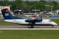 N980HA @ CLT - Piedmont Airlines Dash8-100 in US Airways colors