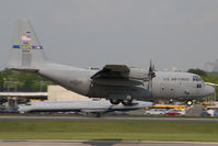 93-1459 @ CLT - USAF Lockheed C130 Hercules - by Yakfreak - VAP