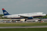 N653AW @ CLT - US Airways Airbus 320