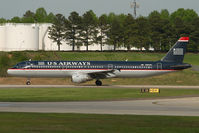 N181UW @ CLT - US AIrways Airbus 321