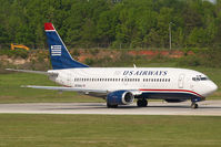 N529AU @ CLT - US AIrways Boeing 737-300
