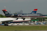 N253PS @ CLT - PSA Regionaljet in US Airways colors
