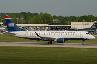 N114HQ @ CLT - Republic Airlines Embraer 175 in US AIrways colors