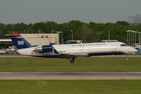 N230PS @ CLT - PSA Regionaljet in US Airways colors