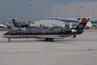 N254PS @ CLT - PSA Regionaljet in US AIrways colors