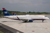 N111HQ @ CLT - Republic Embraer 170 in US Airways colors