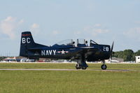 N128BC @ LAL - T-28 - by Florida Metal