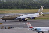 A9C-LH @ VIE - Gulf Air Airbus A340-313X