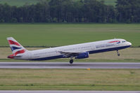 G-EUXC @ VIE - AIRBUS A321-231