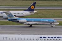 PH-KZL @ VIE - Fokker 70