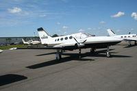 N366M @ LAL - Cessna 414A