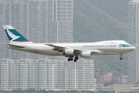B-HVX @ VHHH - Cathay Pacific Cargo 747-200 - by Andy Graf-VAP