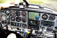 D-EOBM @ EDLM - Cockpit of D-EOBM - by Martin Strelow