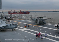 149932 - EH3 SEA KING. From the USS Yorktown in Charlston, SC - by J.B. Barbour