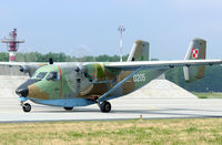 0205 @ EPKS - Thgis M-28 brought in some personnel for the commanders meet at Poznan. - by Joop de Groot