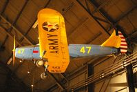 42-34023 @ FFO - Hanging from the ceiling in the National Museum of the U.S. Air Force - by Glenn E. Chatfield