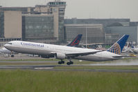 N66056 @ EBBR - Continental Airlines Boeing 767-400