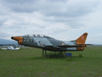 MM6368 @ LIRV - Fiat G-91T/Preserved/Viterbo (Next to Aero club) - by Ian Woodcock