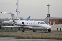CS-DME @ EBBR - parked on General Aviation apron (Abelag) - by Daniel Vanderauwera