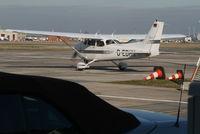 D-EDHN @ EBBR - leaving General Aviation apron - by Daniel Vanderauwera