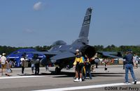92-3924 @ ILM - Twin Seat Viper from South Carolina - by Paul Perry