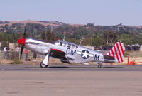 N251MX @ CCR - Collings Foundation P-51C painted as P-51B - by Bill Larkins