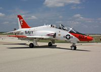 165608 @ FTW - McDonnell Douglas T-45A Goshawk, Cowtown Roundup 2008, BuNo 165608 - by Timothy Aanerud