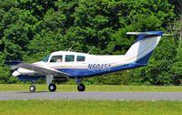 N60451 @ HBI - Ariving runway 21 - by John W. Thomas