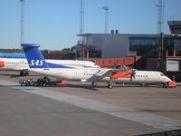 LN-RDL @ ESSA - SAS Commuter  Arlanda Airport - by Henk Geerlings