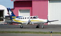N164GP @ ANC - Aeromed Cessna 441 at Anchorage South park
