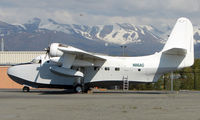 N116AG @ MRI - Grumman HU-16C  at Merrill Field , Anchorage