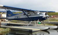 N9878R @ LHD - Regal Air DHC2 Beaver at home dock on Lake Hood