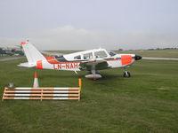 LN-NAH @ EGJJ - Jersey Airport , Channel Islands - by Henk Geerlings