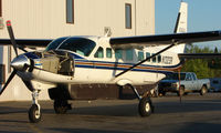 N1323R @ FAI - Cessna 208B of Wright Air services at the end of its workday - by Terry Fletcher