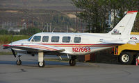 N27663 @ HRR - Talneetna Aero Services ' Pa-31-350 at Healy River Airport , AK