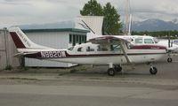 N9620M @ LHD - Cessna 207 of Alaska Air Taxi sits at is Lake Hood base